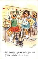 """¤¤  -  ILLUSTRATEUR  """" Germaine BOURET """"  -  Enfants  -  Chat  -  Standard Téléphonique   -  ¤¤ - Bouret, Germaine"""