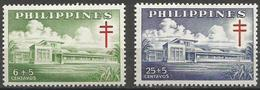 Philippines - 1959 TB Campaign Bohol Sanitarium  MNH **     Sc B14-5 - Philippines