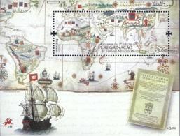 Portugal 2014 400th Anniv Publication Of Peregrinação (Pilgrimae) Travel Writings Fernao Mendes Pinto Souvenir Sheet MNH - Explorers