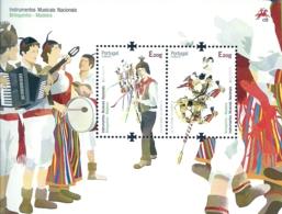 Portugal Madeira 2014 Europa CEPT -  Musical Instruments Souvenir Sheet MNH - 2014