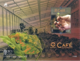 Portugal 2014  Coffee Souvenir Sheet MNH - Agriculture