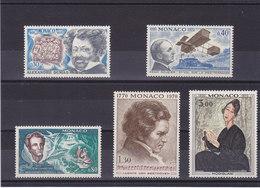 MONACO 1970 ANNIVERSAIRES Yvert 839-843 NEUF** MNH Cote : 9,50 Euros - Neufs