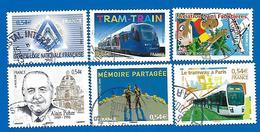 2006 - Timbres N° 3974, 3976, 3985, 3993, 3994 Et 3995 - Frankreich