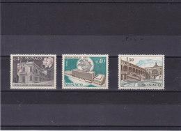 MONACO 1970 Yvert 827-828 + 844 NEUF** MNH - Neufs
