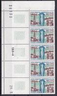 Chad,1968 - 50fr Hydrological Decade, Blocco Di 5 - Nr.154 MNH** - Ciad (1960-...)