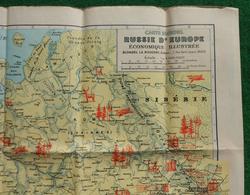 Carte Blondel - Russie D'Europe - Échelle 1 / 4.000.000 - Tirage De Septembre 1943 - Geographical Maps
