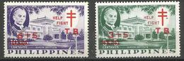 Philippines - 1959 TB Campaign  Quezon Institute  MNH **     Sc B12-3 - Philippines