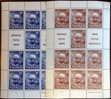 Tuvalu 1981 UPU Sheetlet Set MNH - Tuvalu