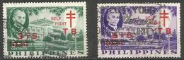Philippines - 1959 TB Campaign  Quezon Institute  Used     Sc B12-3 - Philippines