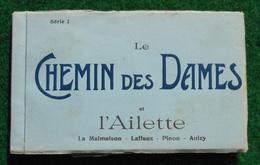 Carnet Complet De CPA - Le Chemin Des Dames Et L'Ailette - Éditeurs Nougarède Et Lestrat à Soissons - Guerre 1914-18