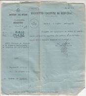 Italy WWII 1942 Questura Di Zara - Zadar Official Letter To Comune Zlarino Zlarin B190220 - Croatia