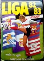 Álbum De Cromos Completo. Liga 1982-1983 Ediciones Este. - Cromos