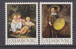 Europa Cept 1989 Luxemburg 2v ** Mnh (41966A) - 1989