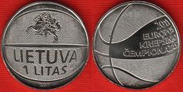 "Lithuania 1 Litas 2011 Km#177 ""BasketBall"" UNC - Lituanie"