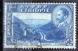 PIA - ETHIOPIE - 1947 : Hailé Sélassié E Vedute Diverse - Monte Alamata  - (Yv  267) - Ethiopia