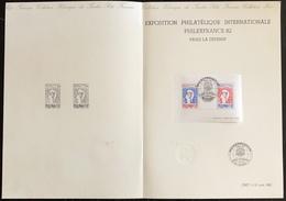 France - FDC - Premier Jour - Yt Nº 2216 à 2217 - 1982 - FDC