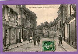 ABBEVILLE - Rue De L'Hôtel De Ville- 1908 - - Abbeville
