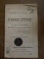 Oud          Boekje  Fabrication  SIROPS & EAUX -  DES--- VIE - Gezondheid