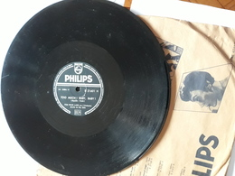 Philips  -  1954  Nr.  21601  -  The Four Lads  - Too Much I Baby, Baby - 78 T - Disques Pour Gramophone