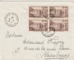 France Lettre Mulhouse 1938 - Marcophilie (Lettres)