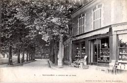 94. VAL DE MARNE - SUCY-EN-BRIE. Avenue De La Gare. Epicerie De La Gare Quinot. - Sucy En Brie