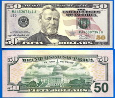 USA 50 Dollars 2013 Mint Kansas City J10 NEUF UNC US Etats Unis United States Dollar Skrill Paypal Bitcoin - Bilglietti Della Riserva Federale (1928-...)