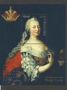 HR 2017-1284 300A BIRTH OF MARIA THERESA, HRVATSKA CROATIA, S/S, MNH - Gezamelijke Uitgaven