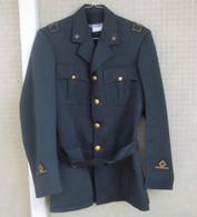 Giacca Vintage  A.M. S.Tenente Ruolo Genio Aeronautico Invernale Anni '60/70 Ottima - Aviazione