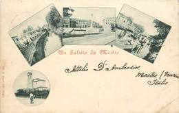 UN SALUTO DE MESTRE (carte Multi-vues). - Verona