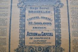 Titre Trust Commercial Et Colonial - Afrique
