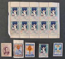 FRANCE - ANTITUBERCULEUX Lot N°3 - Commemorative Labels
