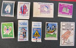 FRANCE - Lot N°8 - Commemorative Labels