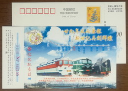 From Steam Locomotive To Diesel Locomotive,DL To Electric Locomotive,CN 00 Huaihua Locomotive Depot Railway Bureau PSC - Treinen