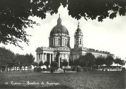 """2840 """"TORINO - BASILICA DI SUPERGA"""" CARTOLINA POST. ORIGINALE NON SPEDITA - Churches"""