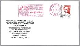 Encuentro 3 RELIGIONES - JUDAISMO - CRISTIANISMO - ISLAMISMO. Piano D'Arci, Catania, 2001 - Islam