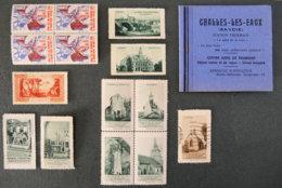 FRANCE - Lot N°16 - Commemorative Labels