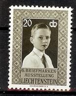 LIECHTENSTEIN  1956  Yv  308** Mi 352**  Zum 296**  MNH - Liechtenstein