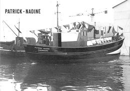 """¤¤  - CHERBOURG  -  Lancement Du Bateau De Pêche """" PATRICH-NADINE """"   -  ¤¤ - Cherbourg"""