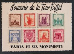 FRANCE - Souvenir De La Tour Eiffel - Paris Et Ses Monuments - Erinnophilie