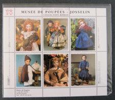FRANCE - Musée De Poupées - Josselin - Commemorative Labels
