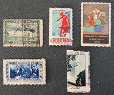 FRANCE - Expositions Internationales - Commemorative Labels