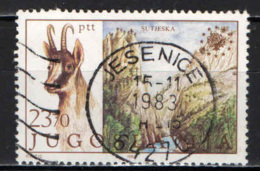JUGOSLAVIA - 1983 - PROTEZIONE DELLA NATURA - USATO - 1945-1992 Repubblica Socialista Federale Di Jugoslavia