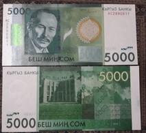 Kyrgyzstan 5000 Som 2016. Press, Series AС - Kirghizistan
