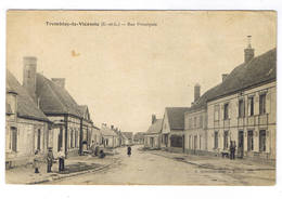 TREMBLAY LE VICOMTE  RUE PRINCIPALE - France