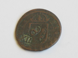 RARE --- 16 Maravedis  1664 - CONTRE MARQUE -  Philippus IIII - Spain- Espagne   **** EN ACHAT IMMEDIAT **** - Autres