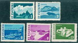 + 1355 Bulgaria 1962 Bulgarian Nature **MNH / Landschaften Bulgarie Bulgarien Bulgarije - Bulgarie