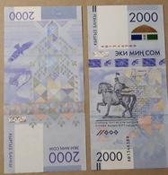 Kyrgyzstan 2000 Som 2017. Press, Series AB - Kirghizistan