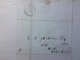GB 1850 Entire Doncaster To Rotherham - Grossbritannien