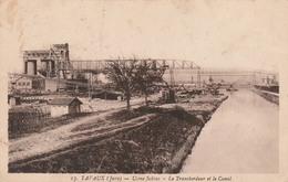 39 TAVAUX    Usine Solvay -Le Transbordeur Et Le Canal   PLAN RARE - Tavaux
