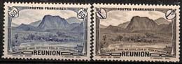 [828441]Réunion 1944 - N° 247/48, Piton D'Anchain, Colonies, SC - Neufs